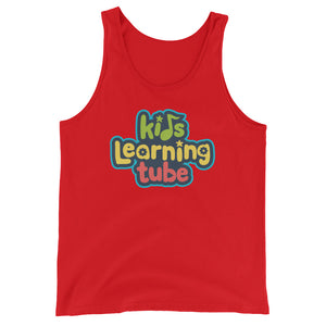 Kids Learning Tube Stacked Logo Adult Unisex Tank Top