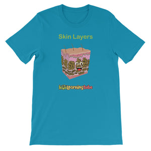 'Skin Layers' Adult Unisex Short-Sleeve T-Shirt