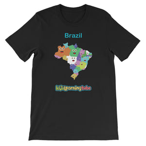 'Brazil' Adult Unisex Short Sleeve T-Shirt