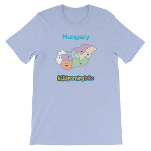 'Hungary' Adult Unisex short sleeve t-shirt