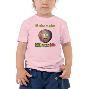 Makemake - Bella + Canvas 3001T Toddler Short Sleeve Tee with Tear Away Label