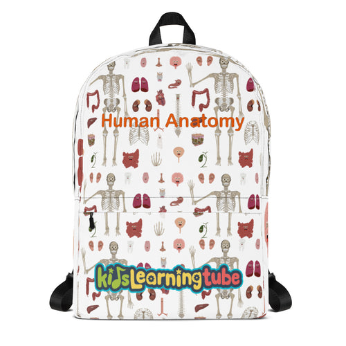 Human Anatomy - Backpack