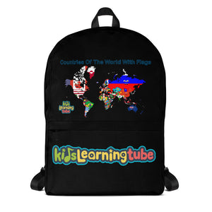 Countries Of The World With Flags - Backpack