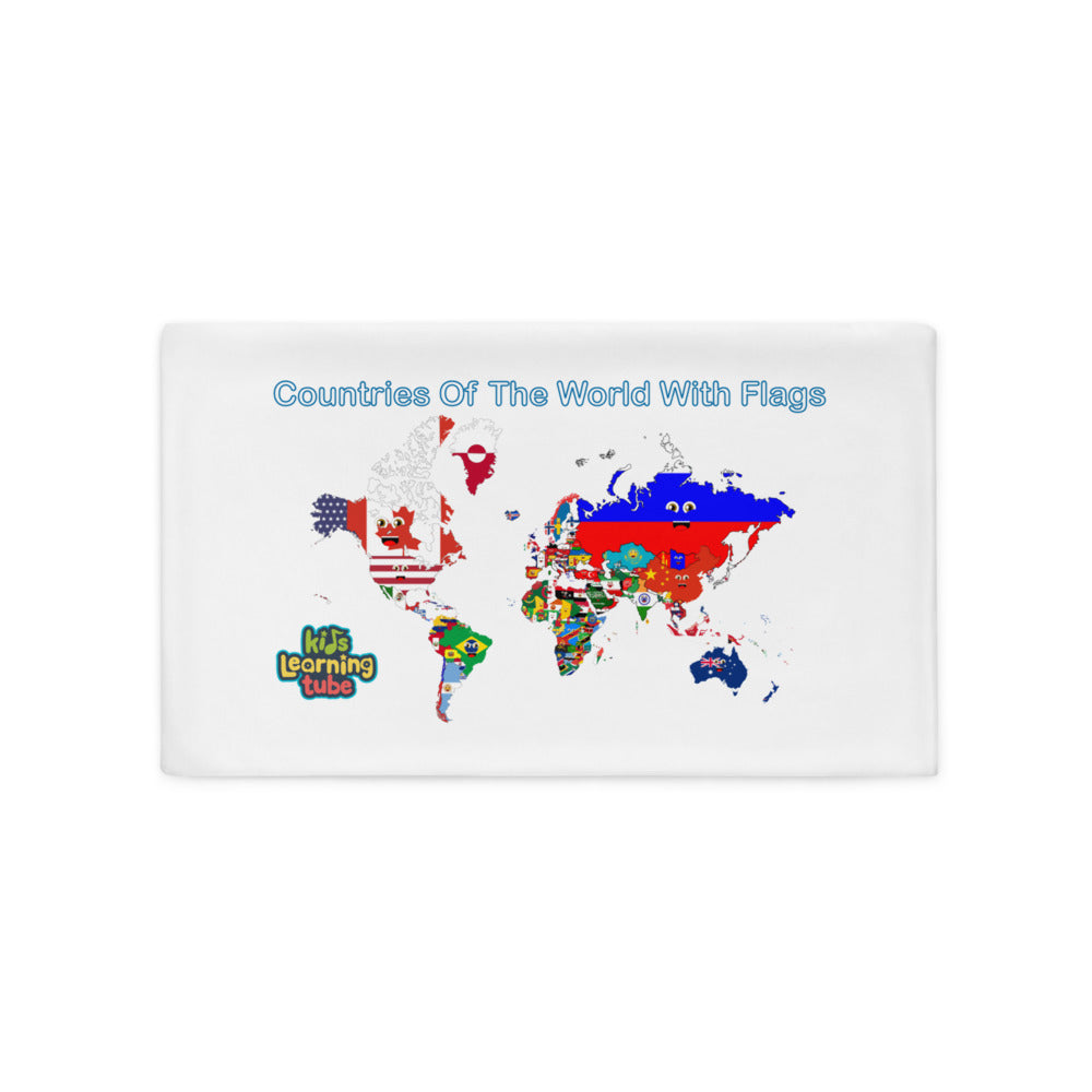 Countries of the World - Pillow Case