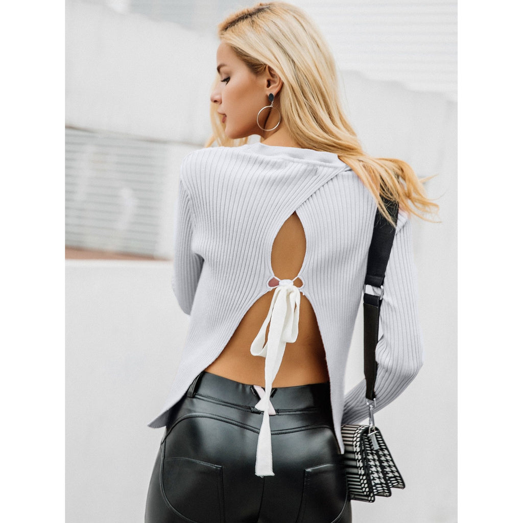 'Tie back' top