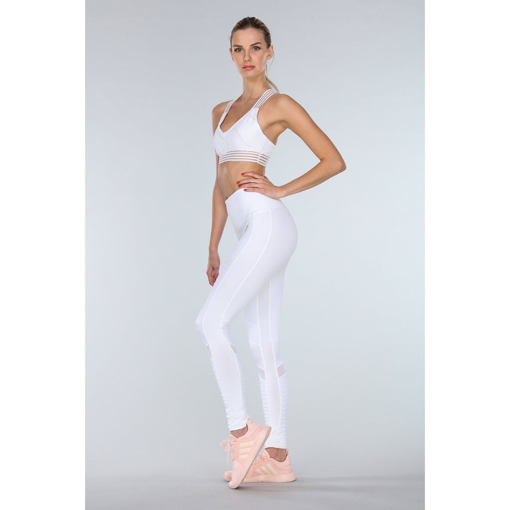 'Malibu' white tights