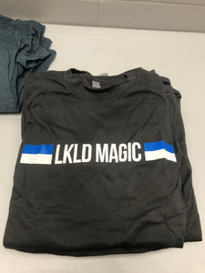 Men's Short Sleeve with LKLD Magic Bar - Heather Grey