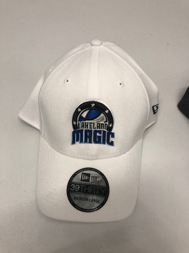 39Thirty Hat with Lakeland Magic Logo - White
