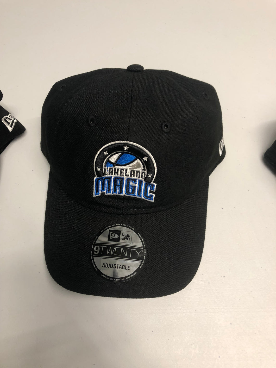 9Twenty Adjustable Hat with Lakeland Magic Logo & Lakeland Magic - Black