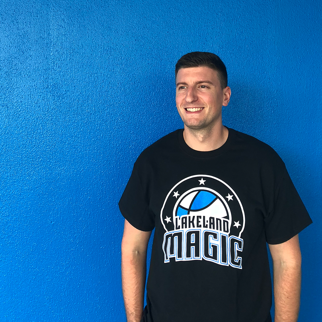 Short Sleeve with Lakeland Magic Logo - Black