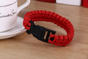 Paracord rescue bracelet