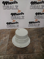 x2 RV Camper Trailer Roof Vent cap, Plumbing Sewer w/Removable Top -White - New