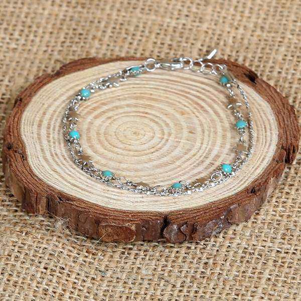 2 Layer Blue Moon Bracelet