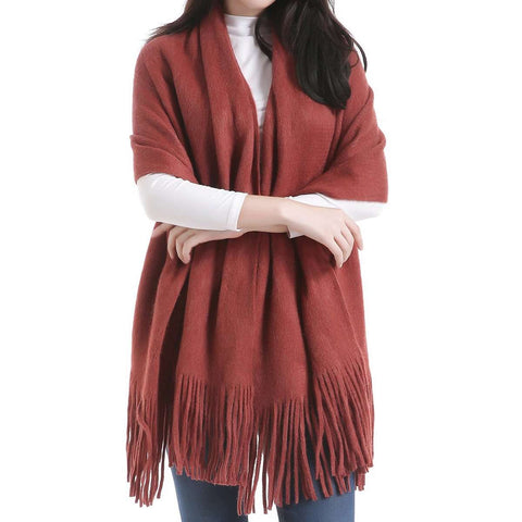 Madison Wool Blend Poncho