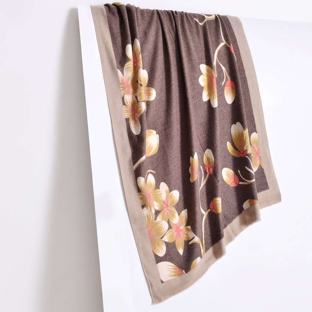 Adalaide Floral Scarf,Heavy Scarves,Mad Style, by Mad Style