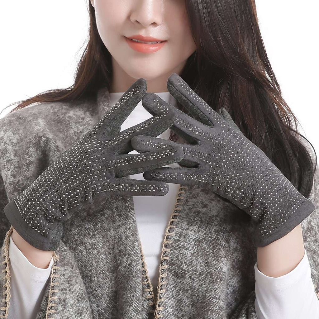 Crystals Gloves,Winter Accessories,Mad Style, by Mad Style