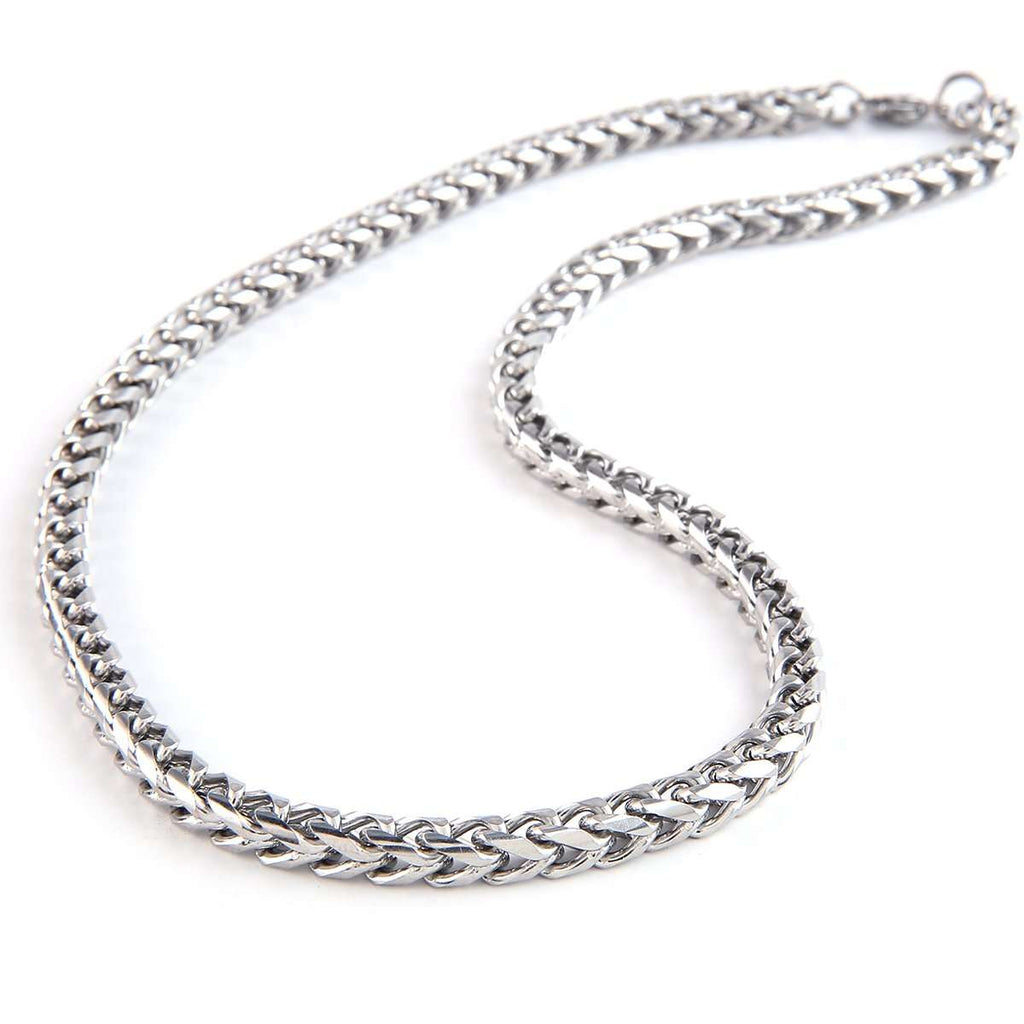 MM Stainless Chain Necklace,Jewelry,Mad Man, by Mad Style
