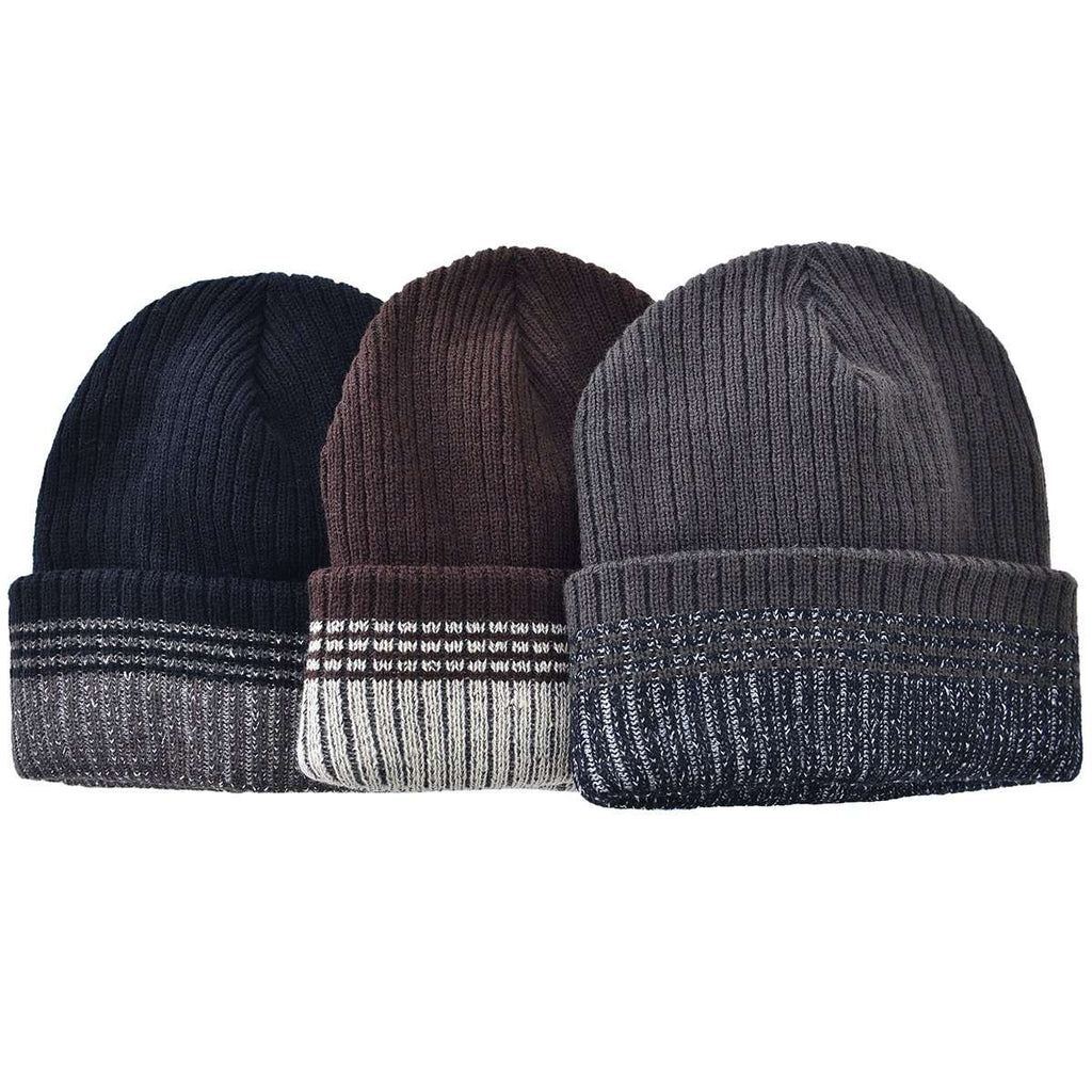 Stripped Toboggan,Winter Gear,Mad Man, by Mad Style