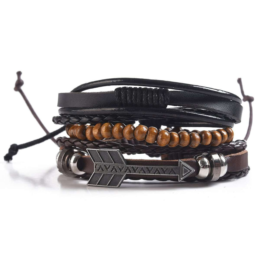 Men's Multi-Strand Bracelet,Jewelry,Mad Man, by Mad Style