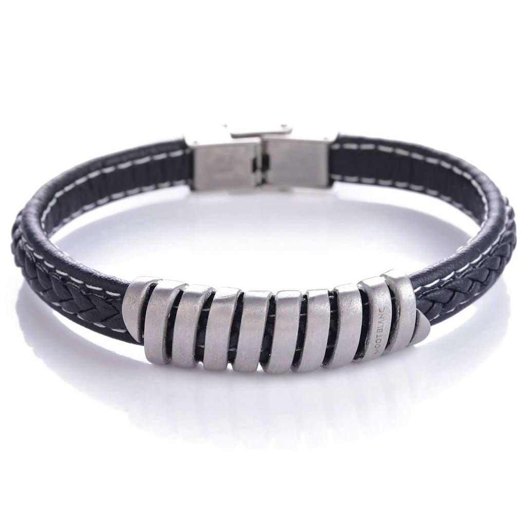 Leather Bracelet,Jewelry,Mad Man, by Mad Style