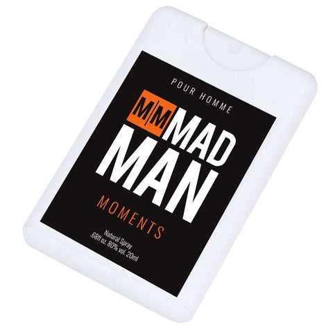 Mad Man Moments Pocket Colonge with Display