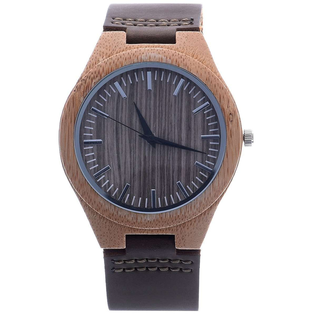 Boyd Bamboo Watch with Bamboo Case