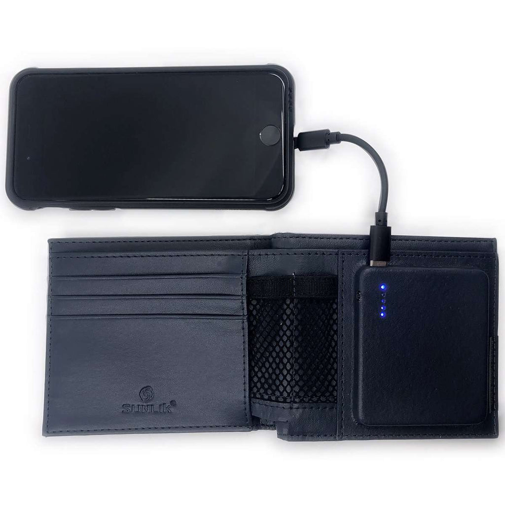 PowerBank Wallet,Tech,Mad Man, by Mad Style