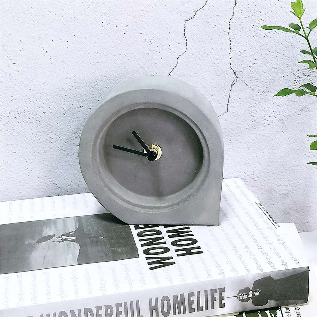 Men's Concrete Desk Clock,Gifts,Mad Man, by Mad Style
