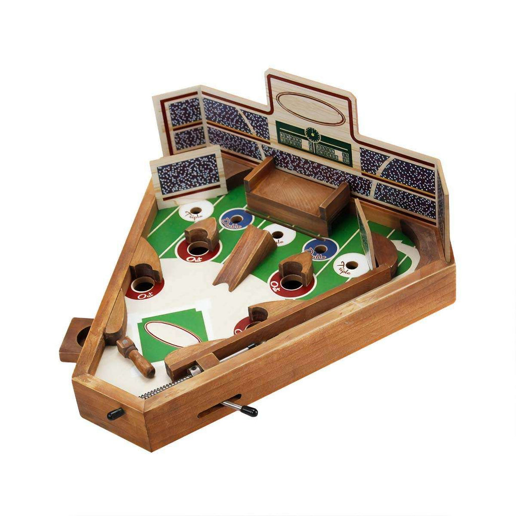 Men's Vintage Baseball Pinball Game