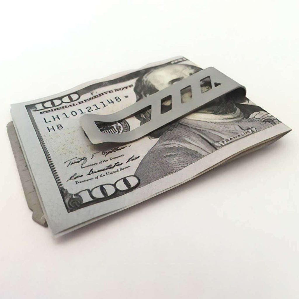 Men's Gunmetal 40 in 1 Money Clip,Cool Tools,Mad Man, by Mad Style