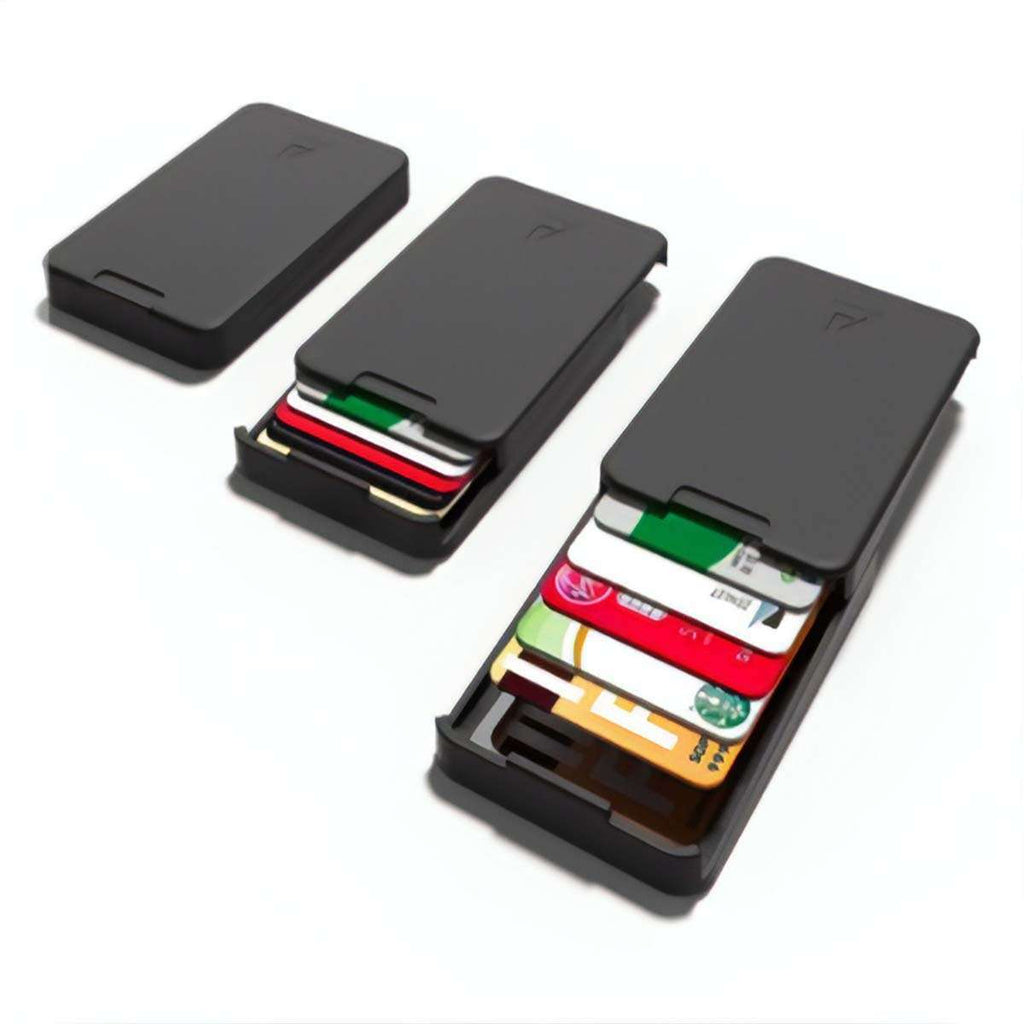 Men's RFID Credit Card Slider Wallet,Wallets and Clips,Mad Man, by Mad Style