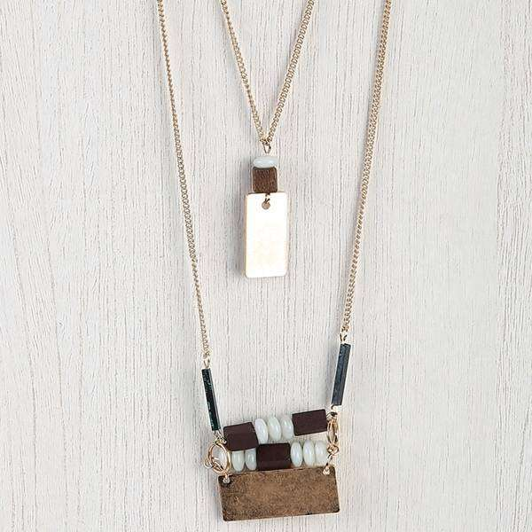 9 Bar Necklace