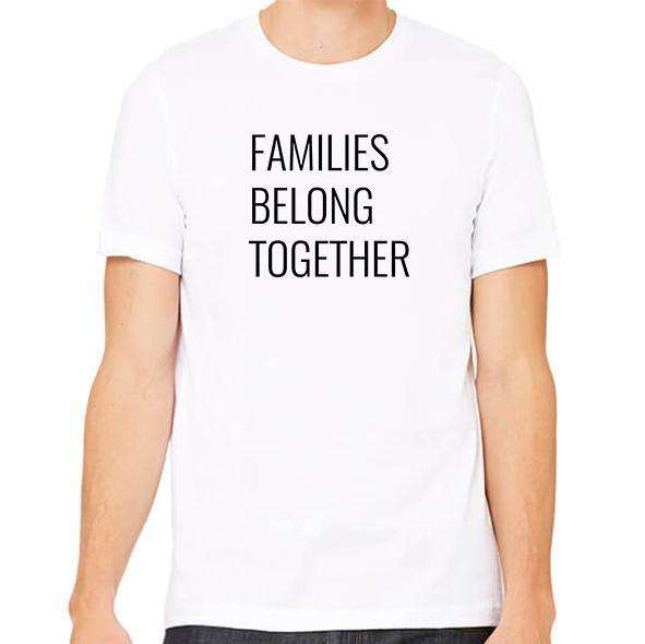 Families Belong Together Unisex Crew Neck Tee,Charity,Mad Style Charity, by Mad Style