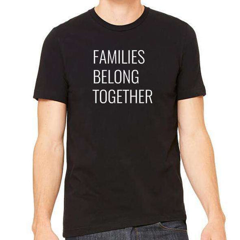 Families Belong Together Unisex Crew Neck Tee