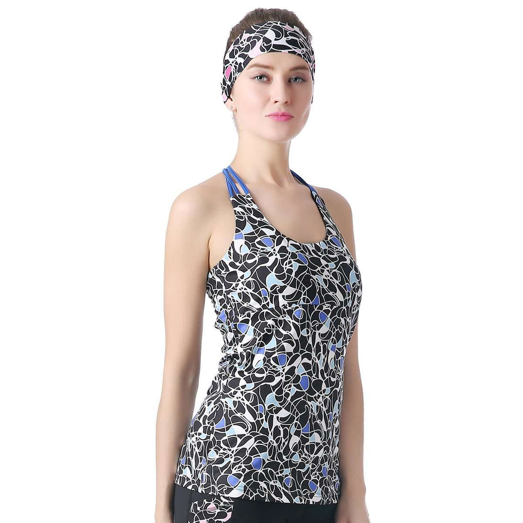 Activewear Braided Back Top,Activewear,Mad Style, by Mad Style