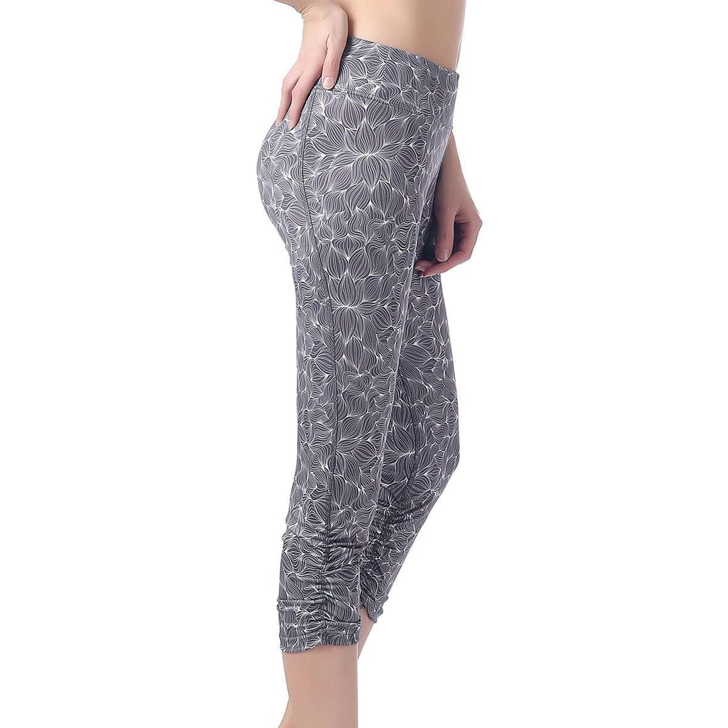 Activewear Crush Rouched Pants,Activewear,Mad Style, by Mad Style