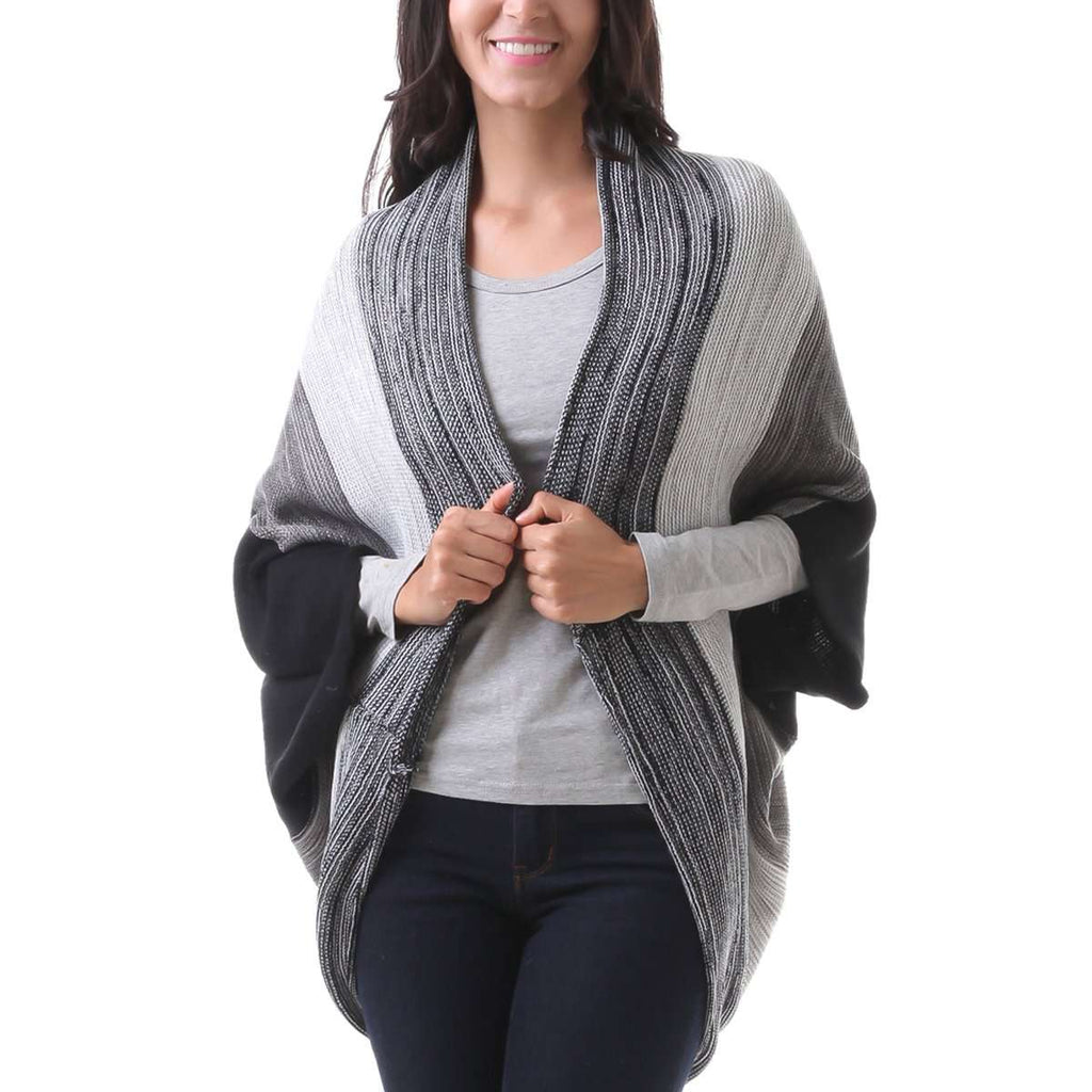 Adalia Long Ombre Shrug