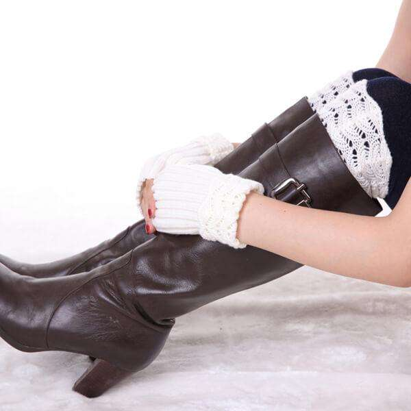 Anora Boot Cuff,Winter Accessories,Mad Style, by Mad Style