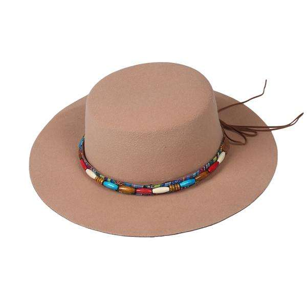 Beaded Felt Flamenco Hat,Hats and Hair,Mad Style, by Mad Style