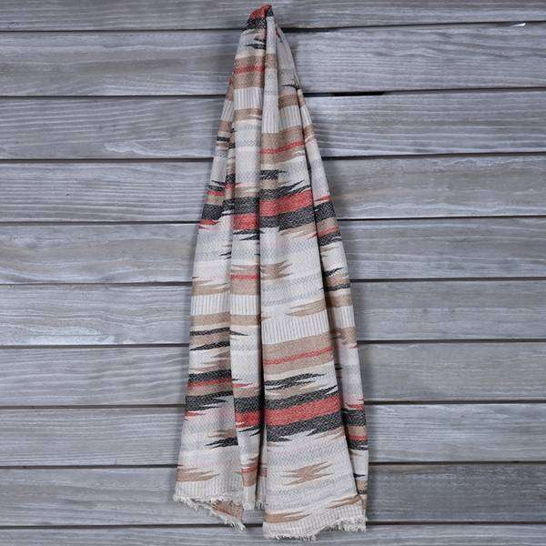 Bree Varied Stripe Scarf,Light Scarves,Mad Style, by Mad Style