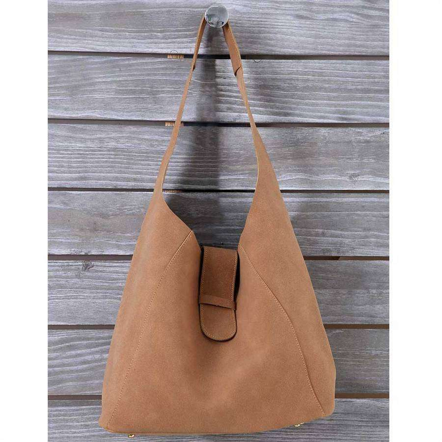 Buckle Slouch Bag,Totes,Mad Style, by Mad Style