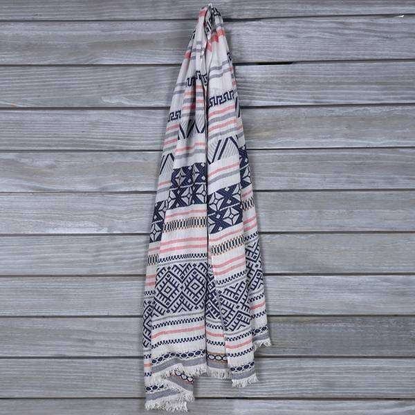 Cali Tribal Scarf,Light Scarves,Mad Style, by Mad Style