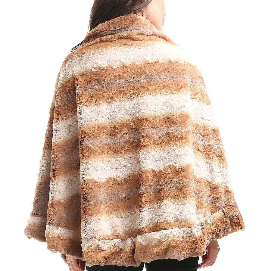 Camel Crinkled Collared Cape,Outerwear,Mad Style, by Mad Style