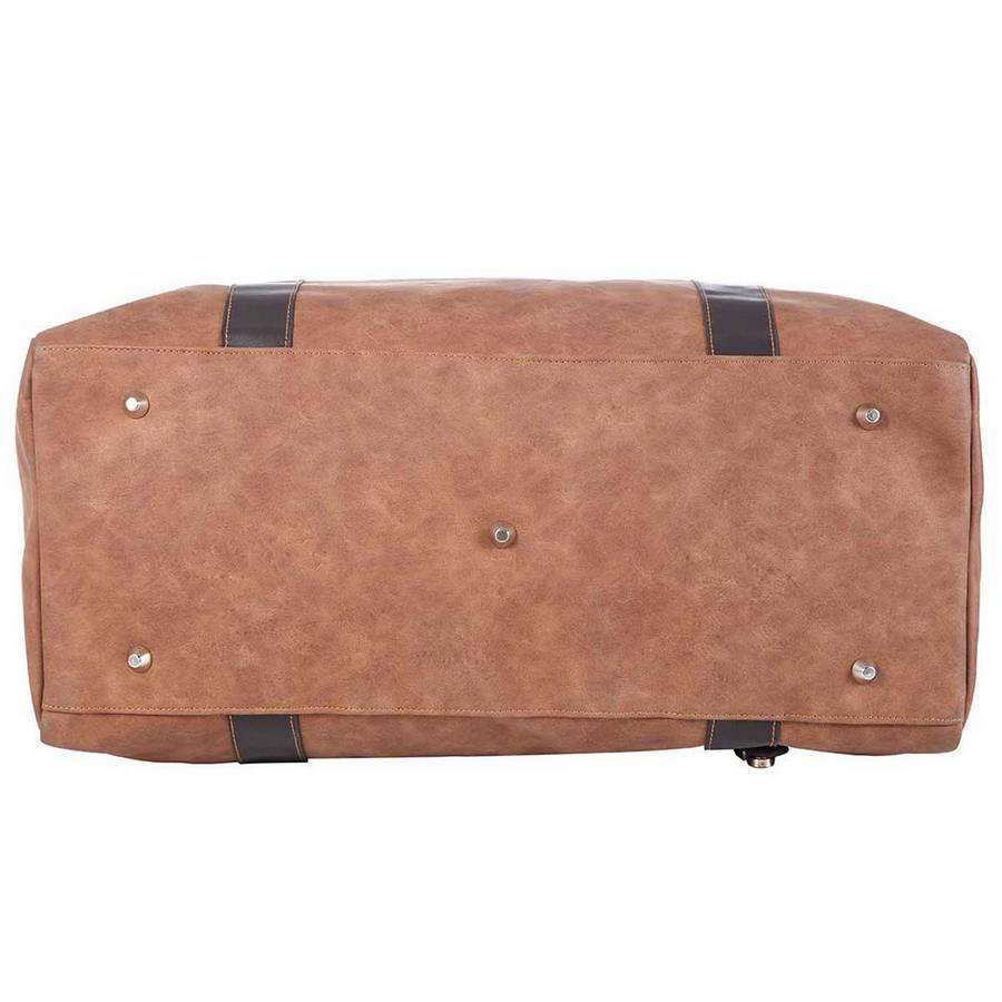 Camel Large Camel Men's Traveler,Bags,Mad Man, by Mad Style