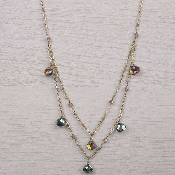 Chelsea Double Strand Necklace