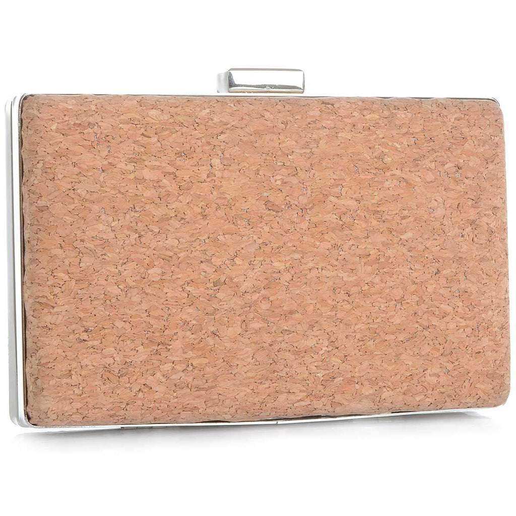 Cork Kelsi Clutch,Clutches,Mad Style, by Mad Style