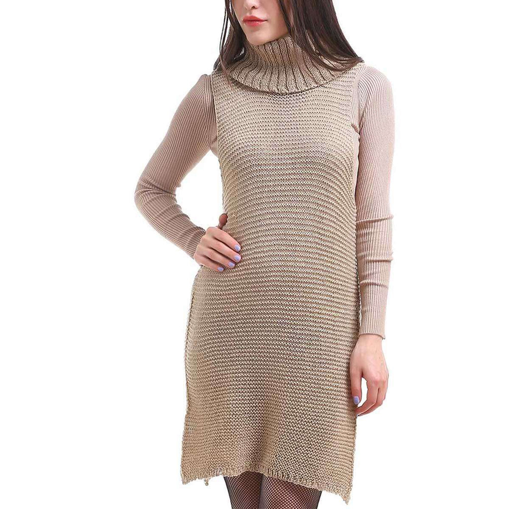 Cowl Neck Tunic Dress,Dresses,Mad Style, by Mad Style