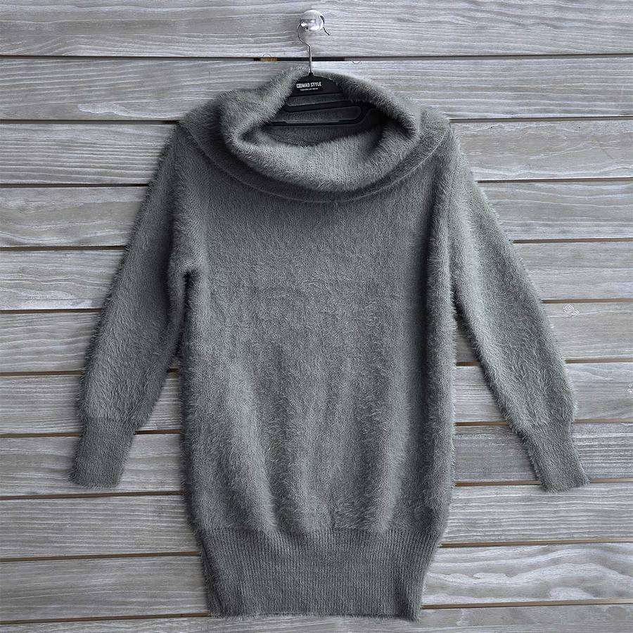 Cowlneck Knit Pullover,Sweatshirts,Mad Style, by Mad Style