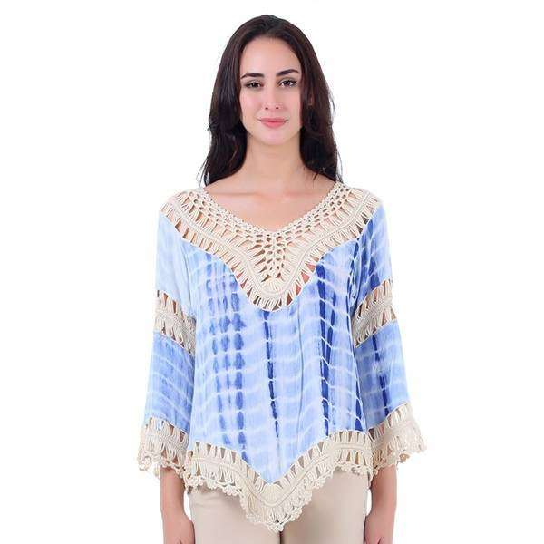 Crocheted Shirt tail Top,Tops,Mad Style, by Mad Style