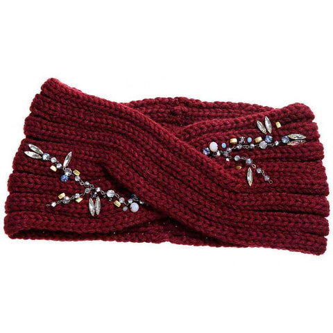 Crystal Vine Wide Headband